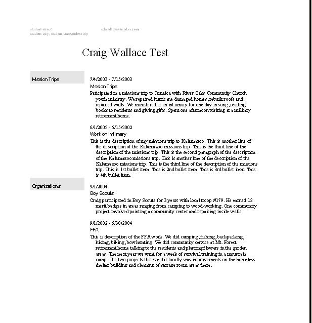 Resume Templates College Student No Job Experience Are Examples We